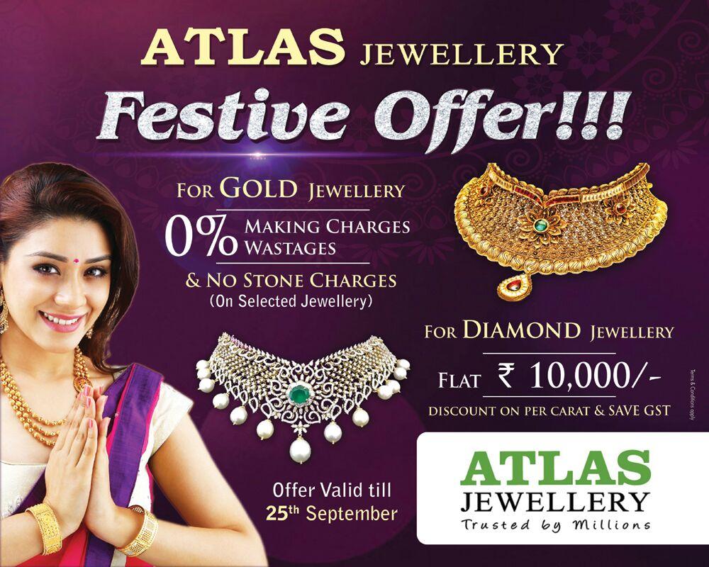 ATLAS Offers and News | Atlas Jewellery India Ltd